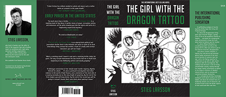 The Girl With The Dragon Tattoo Complete Book Cover