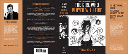 The Girl Who Played With Fire Complete Book Cover