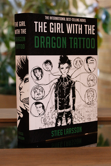 The Girl With The Dragon Tattoo Single Book MockUp