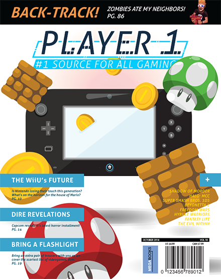 Player 1 Magazine Cover Art